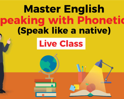 Master English Speaking with Phonetics. (Speak like a native)